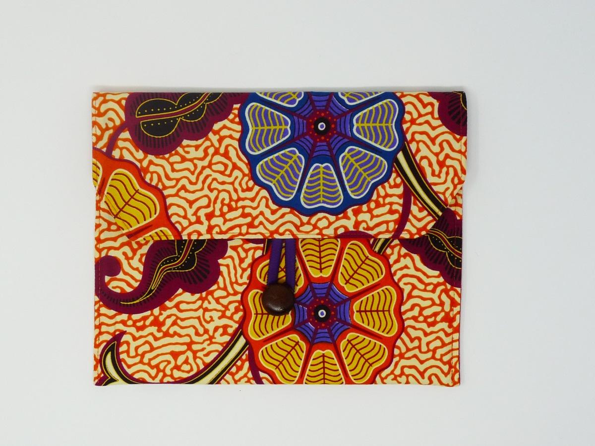 Pochette pour ipad mini en wax orange