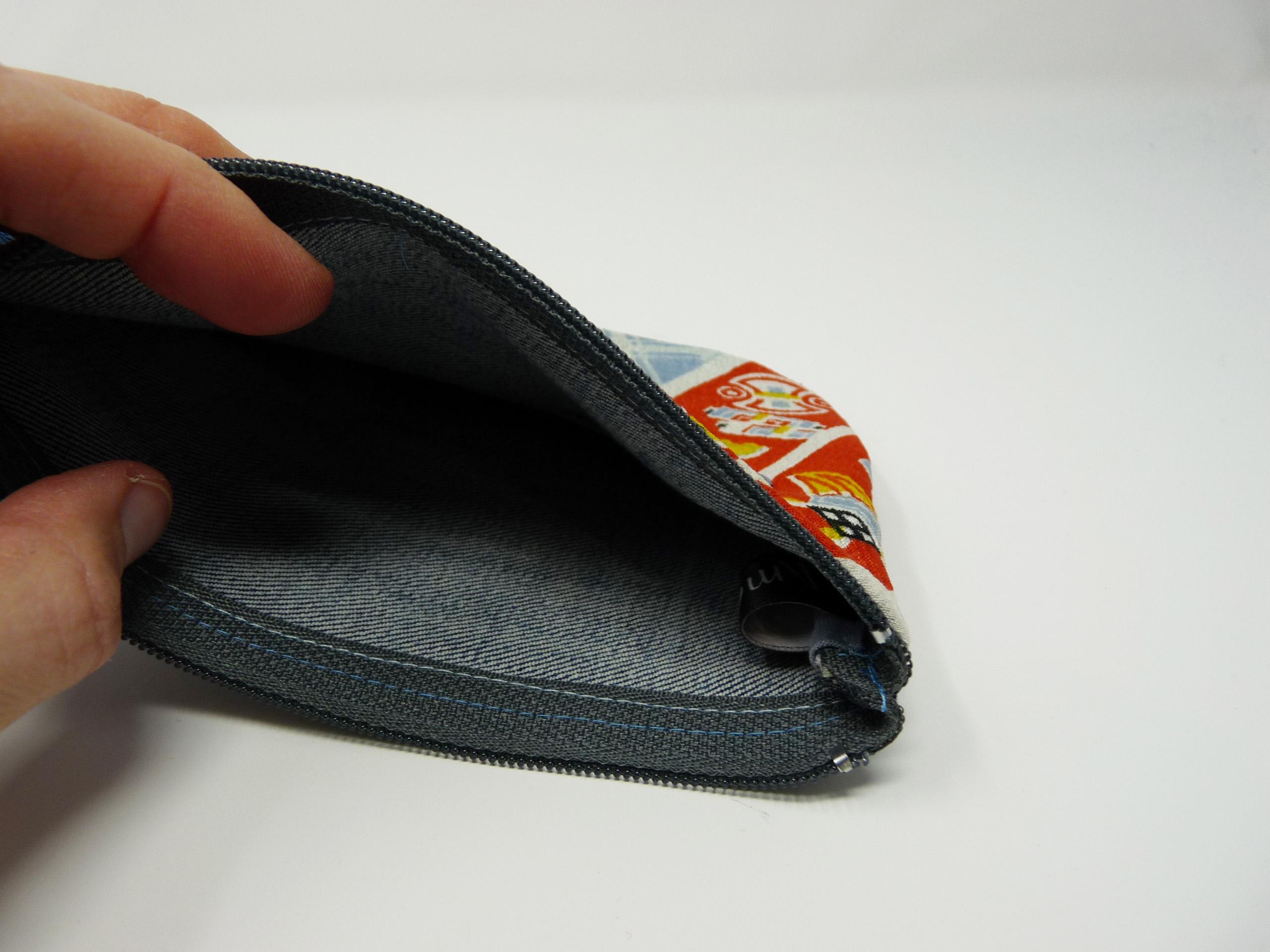 Pochette avec tissu japonais